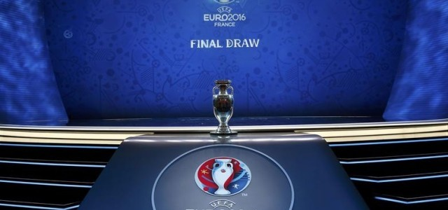 Grupa A: Franța, România, Albania, Elveția Grupa B: Anglia, Țara Galilor, Slovacia, Rusia Grupa C: Germania, Irlanda de Nord, Polonia, Ucraina Grupa D: Spania, Turcia, Cehia, Croația Grupa E: Belgia, […]