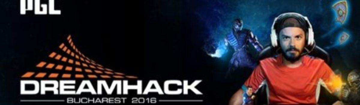 Partenerii DreamHack Bucharest 2016 anunță evenimentele de la standuri